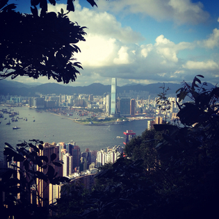 Morning Trail, The Peak 山頂晨運徑, The Peak, Hong Kong