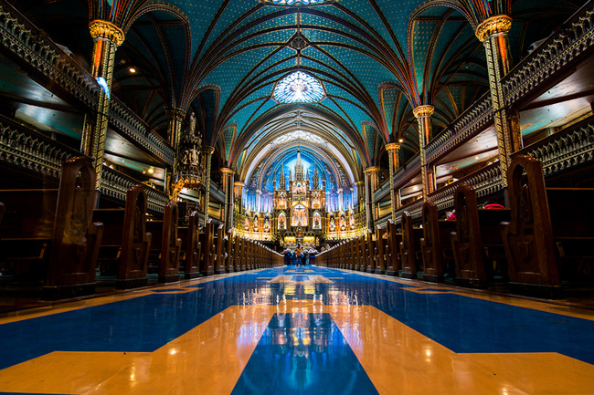 Notre-Dame Basilica of Montreal, Montreal, Canada