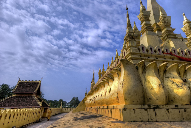 Phra That Luang Temple, Vientiane, Laos