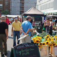 Marylebone Farmers' Market, London, United Kingdom