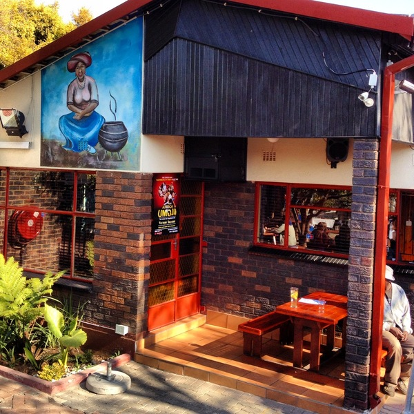 Sakhumzi Restaurant, Soweto, South Africa