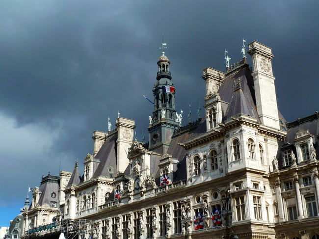 Hôtel de Ville, Paris, France