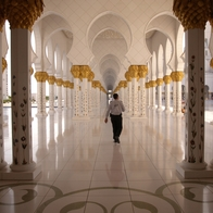 Shaikh Zayed Grand Mosque, Abu Dhabi, United Arab Emirates