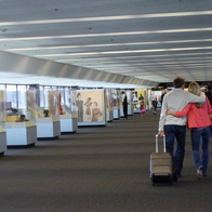 Exhibitions Corridor, Domestic Terminal 3, San Francisco, California