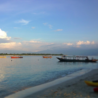 Horizontal Beach Club Gili Trawangan, Pemenang, Indonesia