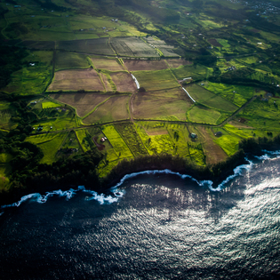 Exploring the Big Island by Sky and Sea