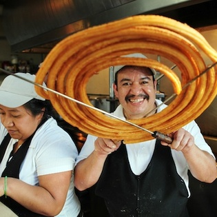 Churros El Convento, Mexico City, Mexico