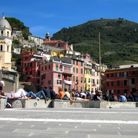 Vernazza Harbor, Vernazza, Italy