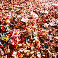 Seattle Gum Wall, Seattle, Washington
