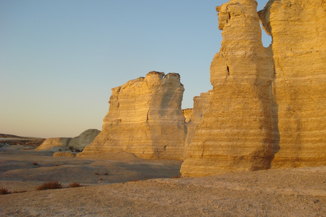 Monument Rocks National Natural Landmark, Grinnell, Kansas