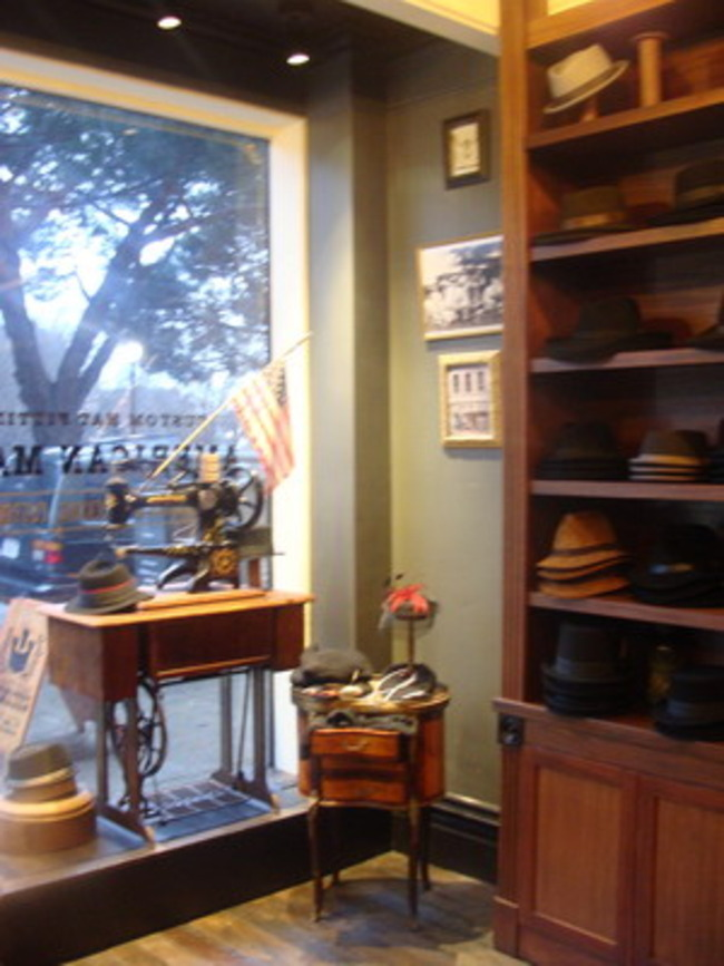 Custom Hat Shop, Washington Square, San Francisco, California