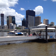 South Bank Ferry Terminal, South Brisbane, Australia