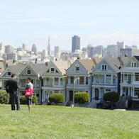 Alamo Square, San Francisco, CA, San Francisco, California