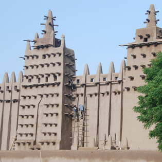 The Grand Mosque, Djenne, Mali