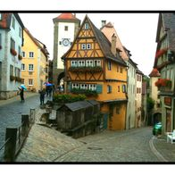 city gate, Rothenburg, Germany