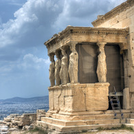 Erechtheion, Athens, Greece