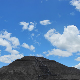 Pyramid of the Sun, State of Mexico, Mexico