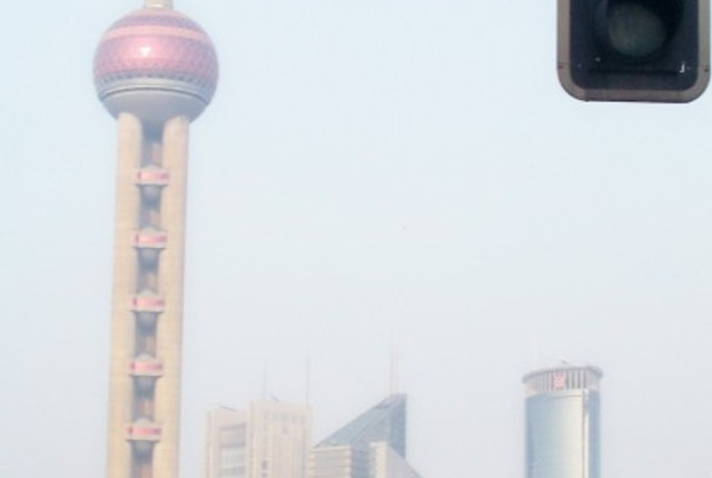 Oriental Pearl TV Tower, Shanghai, China