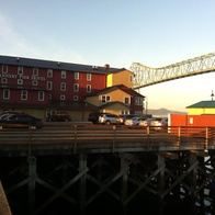 Cannery Pier Hotel, Astoria, Oregon