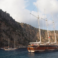 Blue Cruise on the Mediterranean, Fethiye, Turkey