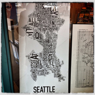 Metsker Maps, Seattle, Washington