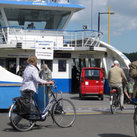 Commuter Ferry, Amsterdam, The Netherlands