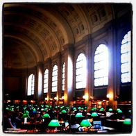 Boston Public Library, Boston, Massachusetts