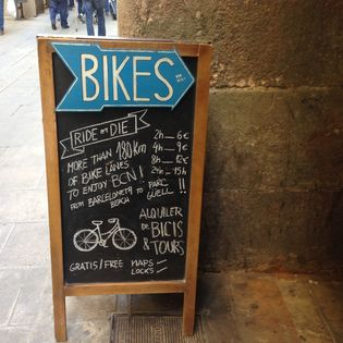 Bike Rental RIDE OR DIE Born, Barcelona, Spain