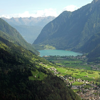 Lago di Poschiavo, Switzerland, Poschiavo, Switzerland