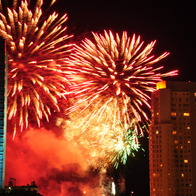 Happy New Year !, Punta del Este, Uruguay
