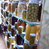 Pickling Store, Istanbul, Turkey