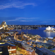 Medium shangri la sydney sydney harbour views   night