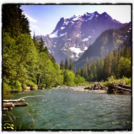 Big Four Mountain, WA, Granite Falls, Washington