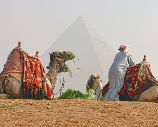 Great Pyramid of Giza, Nazlet El-Semman, Egypt