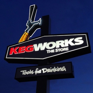The KegWorks Retail Store, Buffalo, New York