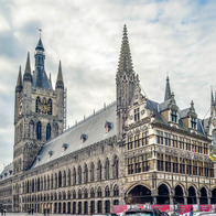 Cloth Hall, Ieper, Belgium