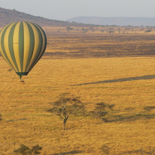 Serengeti Balloon Safari, Serengeti, Tanzania