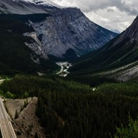 Icefield Parkway, Jasper, Canada