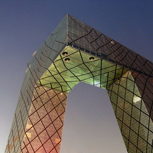 CCTV tower, Beijing, China