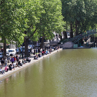 Canal Saint Martin, Paris, France