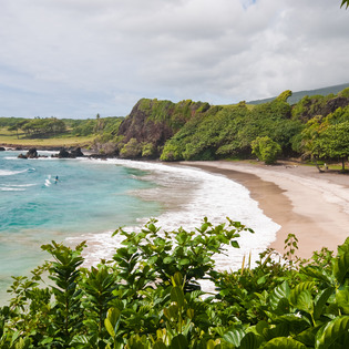 Hāmoa Beach, Hāna, Hawaii