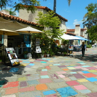 Spanish Village Art Center, San Diego, California