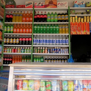 drink shop , Tozeur, Tunisia