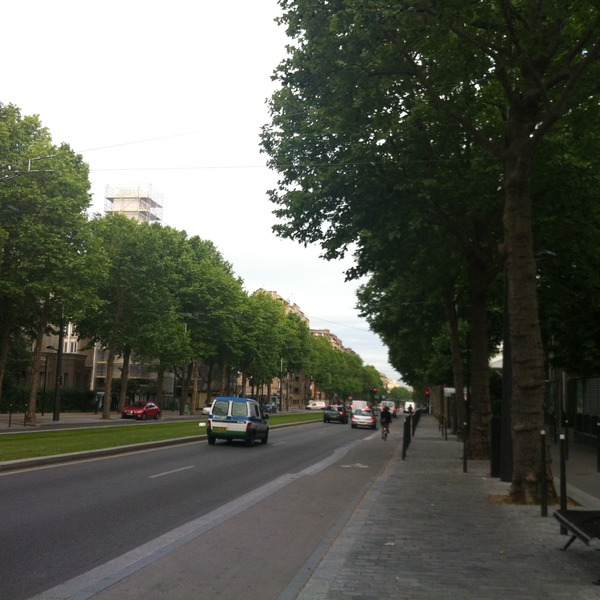Boulevard Jourdan, Paris, France