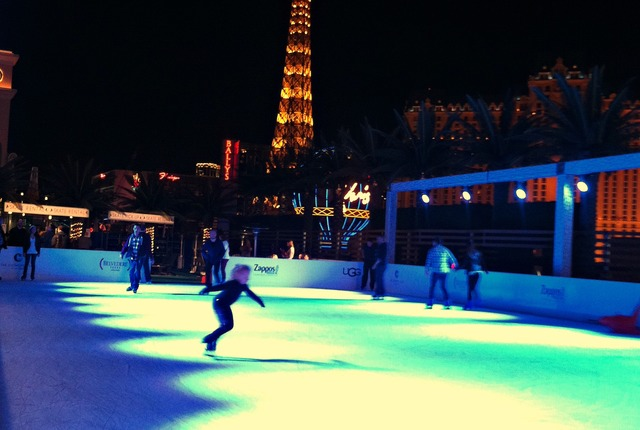 Ice Rink at The Cosmopolitan Of Las Vegas, Las Vegas, Nevada