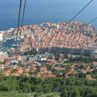 Cable Car, Dubrovnik, Croatia