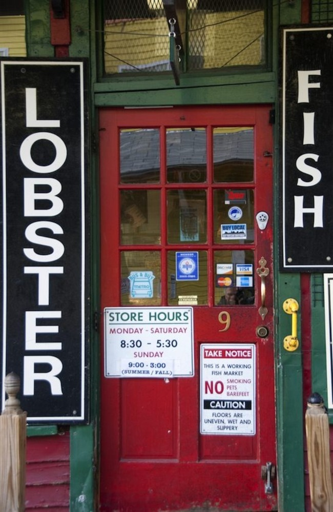 Harbor Fish Market, Portland, Maine