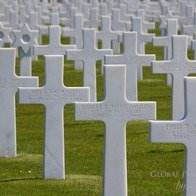 Normandy American Memorial Cemetery, Colleville-sur-Mer, France