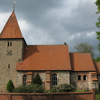 St. Bartholomew Church, Kirchwalsede, Germany