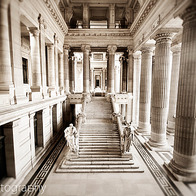 Palace of Justice, City of Brussels, Belgium